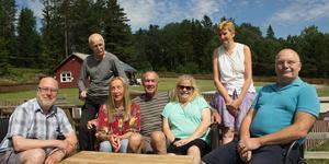 Sättrabor pigga på utveckling: Göran Wahlberg, Lasse Wilhelmsson, Jane Svensson, Peter Nyberg, Eva Freiendahl, Britt-Inger Nyberg och Claes Cederqvist.