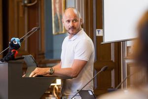 Magnus Svensson (C), oppositionsråd, Söderhamns kommun.