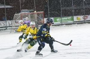 Falu BS, här från en grundseriematch mot Ljusdal.