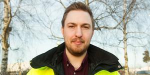 Filip Mauritzson, 30, är ny säkerhetssamordnare i Avesta kommun.