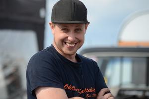 Anders Hållén från Sandarne har kvalat på 20:e plats i Stock/Super stock.