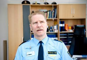 Polisens Josef Wiklund har uppgifter som gör gällande att det inte går att koppla social oro till den specifika händelsen.