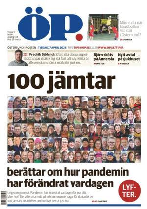 100 jämtar om pandemin. ÖP 27 april