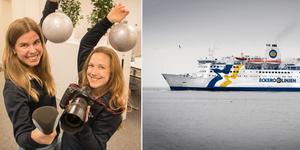 Reportrarna Ida Forsgren och Emelie Stenqvist har redan börjat peppa inför Roslagens Företagsgala 2018.