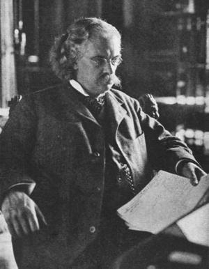 Gösta Mittag-Leffler 1904. Foto: A. Blomberg