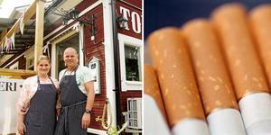 Den nya tobaksavgiften innebär att det i stort sett blir olönsamt för Torö lanthandel att fortsätta att sälja cigaretter och snus. Lanthandeln väljer ändå att fortsätta med det, som en service till kunderna.