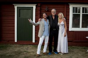 Första året körde Martin och Anna Hanning-Häggström på hembygdsgården men 2018 flyttades arrangemanget hem till parets egna gård. Bild: Privat