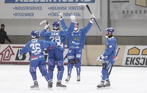Förra året spelade Motala hem en plats i elitserien tillsammans med Falu BS.