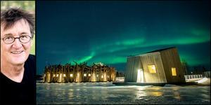 Arkitekten Bertil Harström från Sundsvall ligger bakom den spektakulära arkitekturen. Foto Maria Eilertsen/Johan Jansson.