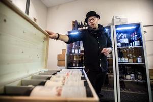 Peter Erikssons stora vinintresse får blomstra fritt på Jacks Bodega.