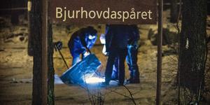 Den 26-åriga mannen sköts vid Bjurhovdaspåret, ungefär 100 meter från Anna-Lenas bostad där hon senare mötte honom på garageuppfarten.
