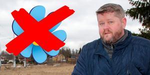 Mattias Widén, ordförande för Sverigedemokraterna i Heby, är besviken på det som hänt.