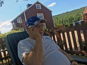 Ove Jonsson är en av många skogsägare som drabbats hårt i Torgåsbranden.
