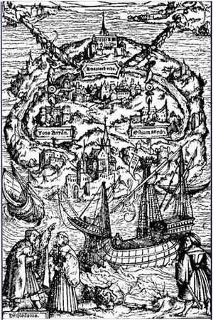 Illustration till Thomas Mores