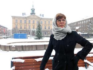 Att bygga på slottstorget som pendang till Rådhuset vore en storslagen gest, men man måste akta riksintresset Södersaneringen, menar stadsarkitekt Helena Tallius Myhrman. Arkivbild.