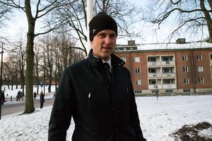 Andreas Johansson, före detta målvakt i Gefle IF.