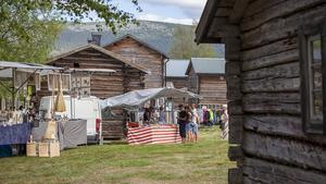 Torsdagen bjöd på marknads- och hantverksdagar på hembygdsgården i Vemdalen.