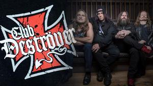 "Exodus, frontat av sångaren Steve ""Zetro"" Souza. Bild: Pressbild"