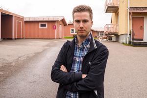 Victor Johansson i Lillhärdal är en av många som vill rädda kvar Mobacka som äldreboende.