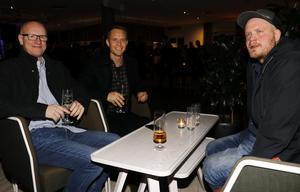 Bengt Glimhede med sönerna Fredrik och Jesper reste från Uddevalla till Örebro.