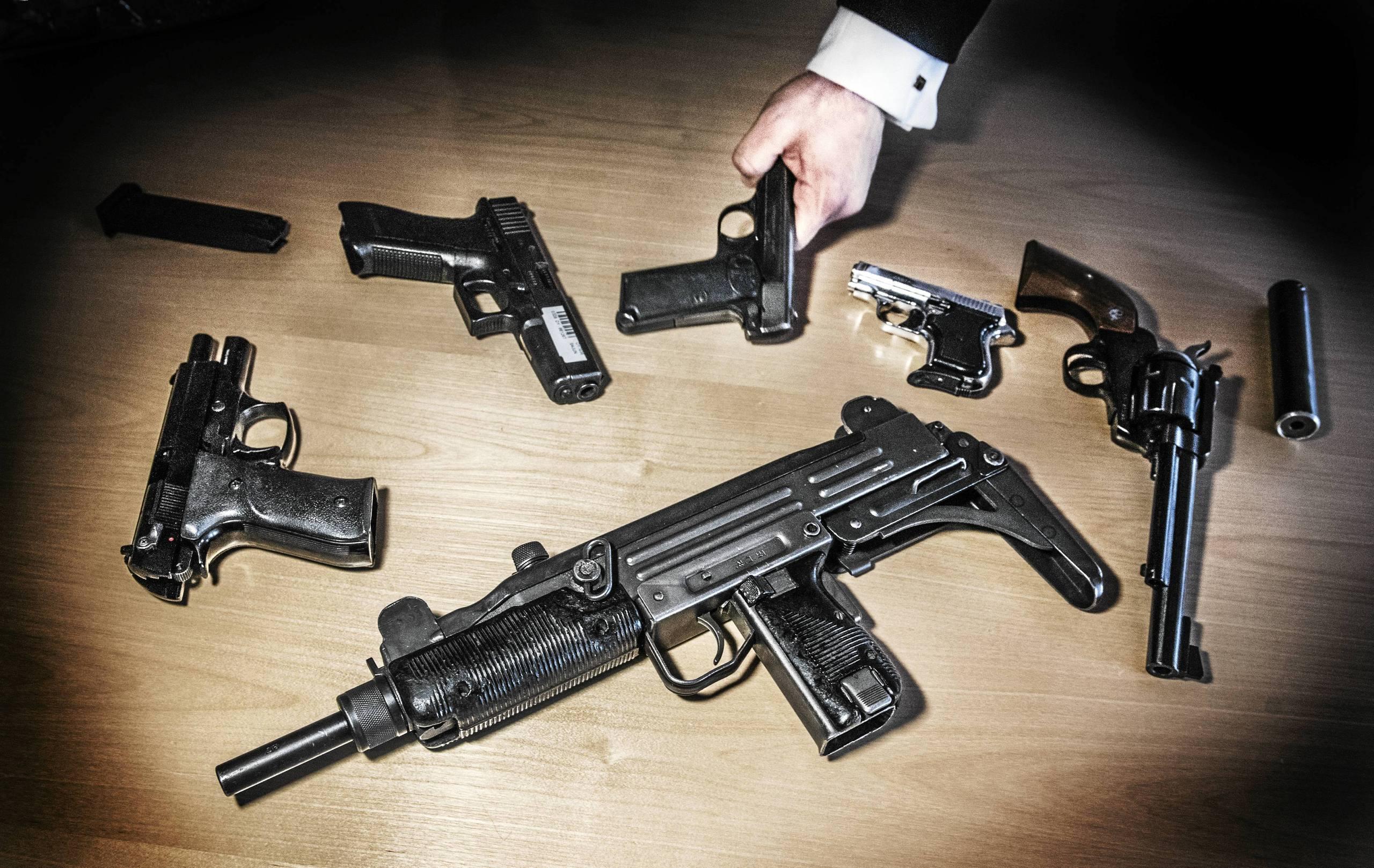 Straffen skarps for vapeninnehav