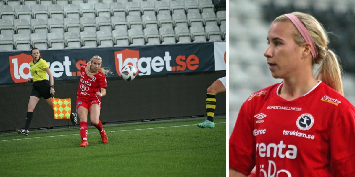 """Hellstrom sköt 2–0 till Kif Örebro – fick kramp och blev utbytt: """"Jag gick för det"""""""