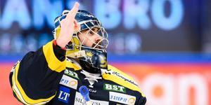 Alexander Sahlin var en av SSK:s hjältar mot AIK. Foto: Simon Hastegård/Bildbyrån