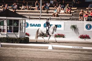 Haid-Bondergaard ställde upp med tre olika ponnyer under helgen.