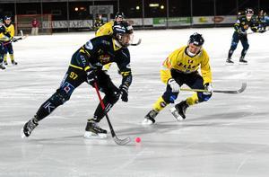 David Jansson i en match mot nuvarande elitserielaget Tellus för några år sedan. Nästa säsong kanske lagen möts igen.