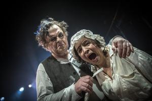 Jan Åström och Susanne Hellström - Sweeney Todd och Mrs Covett.