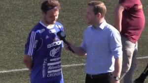 Max Holmberg gjorde två mål när Fagersta Södra tog säsongens första seger.