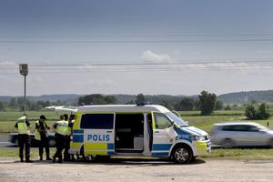 Polisen i Jönköping har sagt att information om deras trafikkontroller är positivt. Foto: Björn Larsson Rosvall / SCANPIX.
