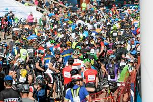 Intresset är stort för Cykelvasan Öppet Spår. Foto: Arkiv