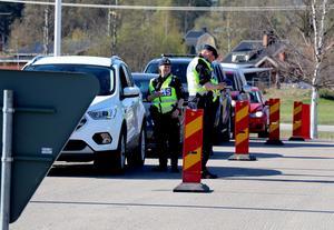 Totalt ska omkring 1 500 trafikanter ha kontrollerats i samband med insatsen.