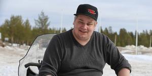 Sebastian Hedin, HAK, tror på fina och spännande tävlingar när finalerna i skotercross avgörs på motorstadion i Byvallen.