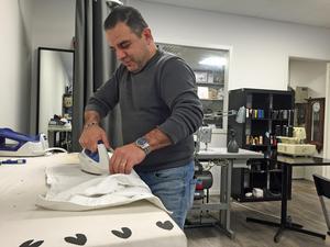 Elias Yakoub är nöjd över att Bäckby centrum ska förändras.