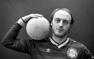 Gunnar Samuelsson inför säsongen 1988. Bild: Bildbyrån