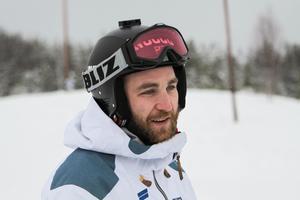 Viktor Sticko tog SM-silver och avslutade säsongen med dubbla segrar i Svenska cupen i Lofsdalen. Foto: Marie-Therese Edebo