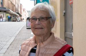 Sigyn Pettersson, 85 år, pensionär, Sundsvall: