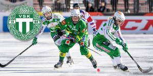 Galina Mikhailova (mitten) uppges vara nära VSK. Om det blir spel den här säsongen eller nästa återstår att se. Foto Fredrik Sandberg/TT