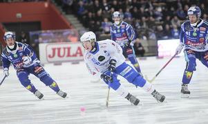 Robin Lundquist var en av derbyts mer tydliga profiler, och  fixade också poängen till Vänersborg med sin kvittering till 3–3  i den 58:e minuten.