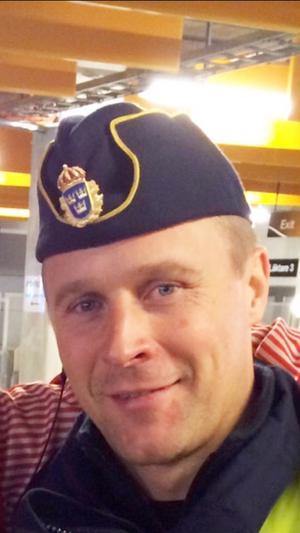 Polisens krogsamordnare, Jonas Packalén. Foto: Privat