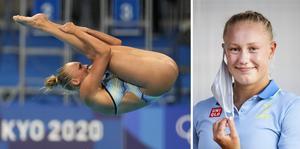 De tolv bästa hopparna i semifinalen gick vidare till final, Emma Gullstrand slutade på trettonde plats. Foto: Dmitri Lovetsky/AP/TT, Pontus Lundahl/TT