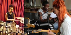 Sjung, spela instrument eller producera musik – valet är ditt! Foto: Popkollo