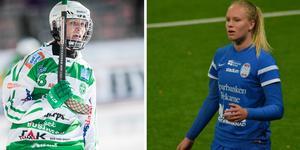 Matilda Plan har förutom det nypåskrivna kontraktet med Eskilstuna United fram till 2021 även kontrakt med Västerås SK som gäller den kommande säsongen. Foto: Andreas Tagg & Privat