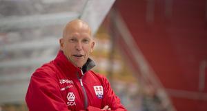 Fredrik Andersson hade roligt i båset.