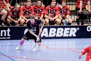 Rasmus Enström gjorde mål i första bytet.