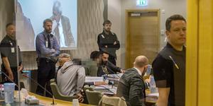 Den tredje rättegångsdagen i Västmanlands tingsrätt.