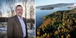 Sven Magnusson, vd för Sundsvall Logistikpark: