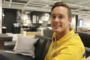 Jonas Fjäll, varuhuschef på Ikea Västerås.